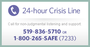 24 hour crisis line info